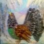 gallo-cedrone-acrilico-30x30