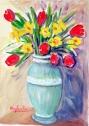 I tulipani rossi