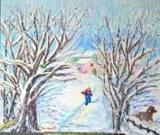incanto-della-neve-acrilico-su-tela-50x60