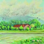 La casa del laghetto primavera