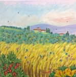 Campo di-Marte Firenze quando c'erano il grano e gli orti