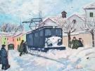 neve-in-cima-al-miglio-acrilico-su-tela-35x45