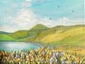 5-primavera-al-lago-scaffaiolo-30x40-acrilico-su-tela