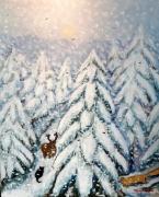 nevica-nella-foresta-del-teso-60x50-acrilico-su-tela