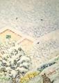 nevicata-40x30-acrilico-su-tela