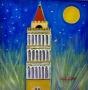 Luna sul campanile