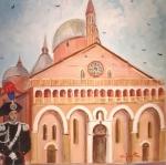 basilica-di-santantonio-da-padova-50x50-collezione-privata-acrilico-su-tela